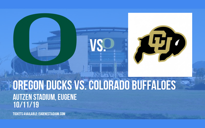 PARKING: Oregon Ducks vs. Colorado Buffaloes at Autzen Stadium