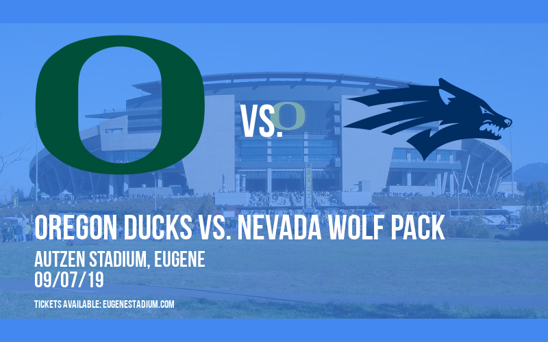 PARKING: Oregon Ducks vs. Nevada Wolf Pack at Autzen Stadium
