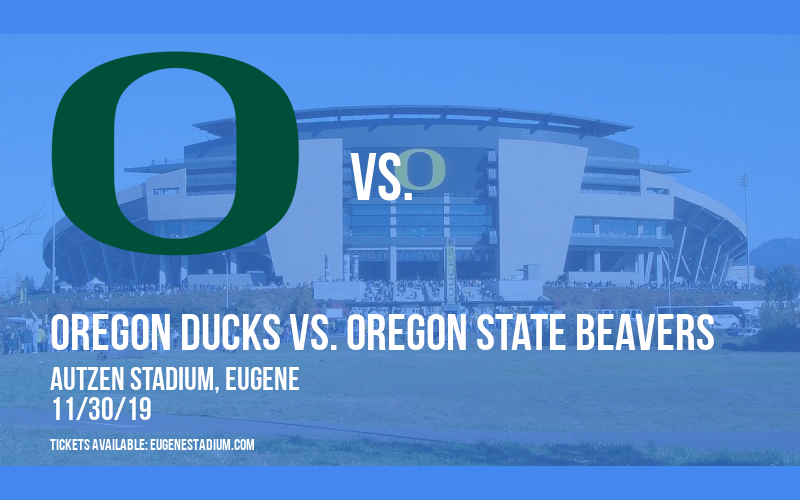 PARKING: Oregon Ducks vs. Oregon State Beavers at Autzen Stadium