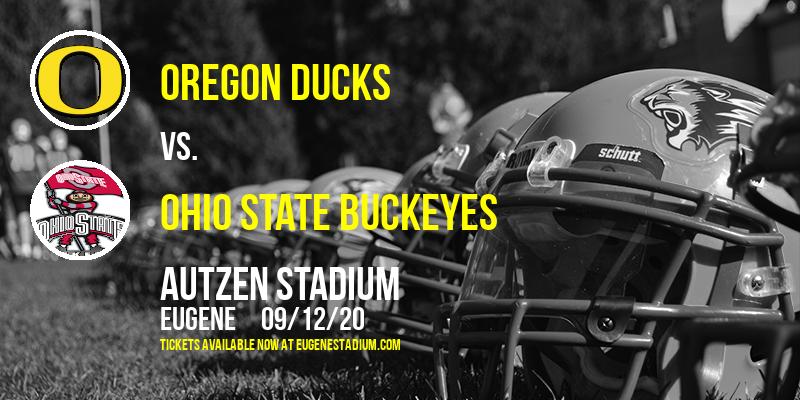 Oregon Ducks vs. Ohio State Buckeyes at Autzen Stadium