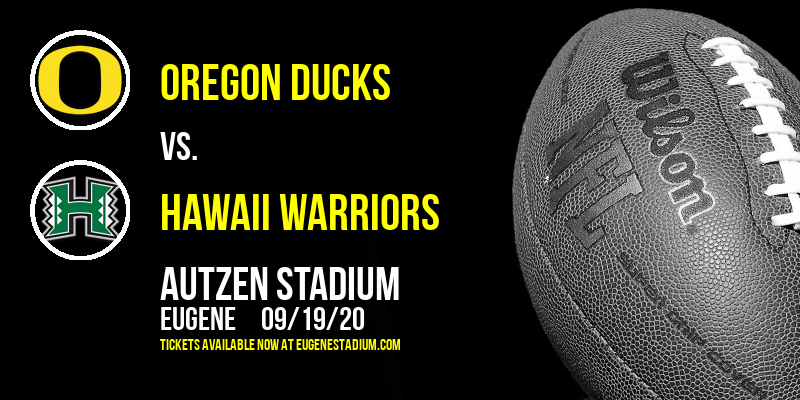 Oregon Ducks vs. Hawaii Warriors at Autzen Stadium