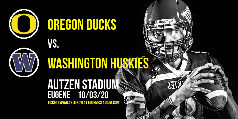Oregon Ducks vs. Washington Huskies at Autzen Stadium