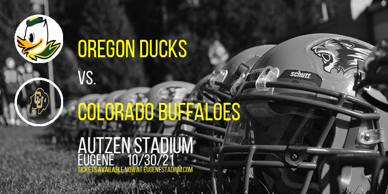 Oregon Ducks vs. Colorado Buffaloes at Autzen Stadium