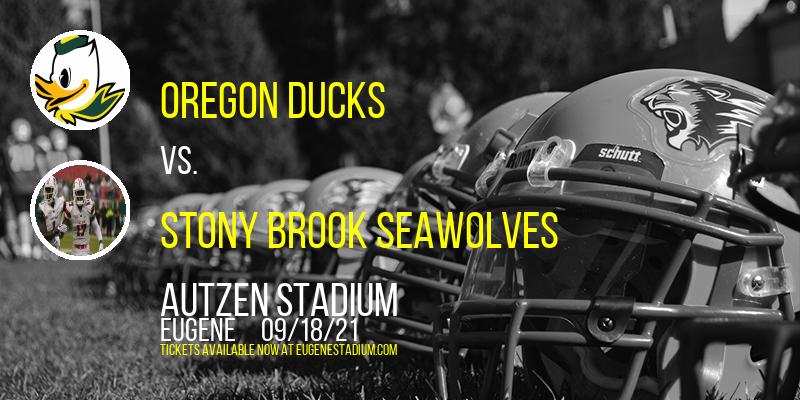 Oregon Ducks vs. Stony Brook Seawolves [CANCELLED] at Autzen Stadium